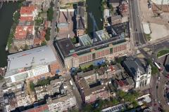 Amsterdam Jodenbreestraat Mozes Aaron kerk Waterlooplein 1996  lfh 96090554-086