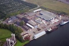 Velsen-Noord Orca base Eurobaes Woonschip Chinezen 1996 lfh 96100733-090