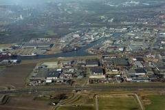 Beverwijk industrieterrein Beverwijk-Oost  haven de Pijp 1997 lfh 97030333-010