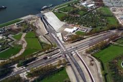 Amsterdam Piet Hein tunnel bouw Zeeburger eiland 1997 lfh 97041707-014