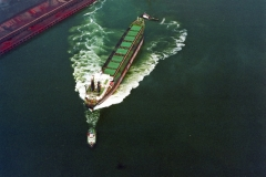 IJmuiden Hoogovens Buka 2 slepers goedkoop keren schip 1997