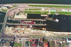 IJmuiden renovatie kleine Sluis 1997