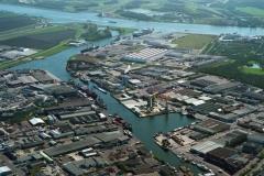 Beverwijk Haven de Pijp Industr ter Wijkermeer 1997 lfh 97041788-020