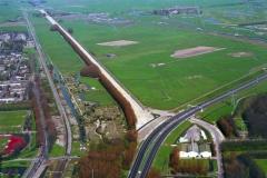 Beverwijk Broekpolder voor de bouw A-9 1997 lfh 97041793-021