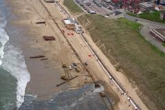 Egmond aan Zee Zandsuppletie strandophoging 1997 lfh 97052066-029