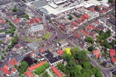 Schagen Centrum Grote kerk markt Mikado centrum 1997 lfh 97053108-030