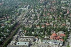 Bussum Station met Centrum 1997 lfh 97071074-056