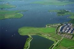Uitgeest Uitgeestermeer  Alkmaarder meer watersport recreatie 1997 lfh  97081607-074