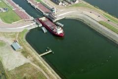 IJmuiden Boa Reel uit de middensluis 1997 lfh 97081638-077