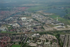 Haarlem Waarderpolder industrie terrein hoog overzicht  1997 lfh 97081921-080