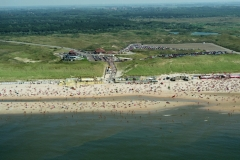 Castricum aan Zee bakkum Strand drukte recreatie 1997 lfh 97081933-083