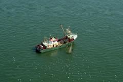 Noordzee Heemskerk kustvisserij VD 6 1997 lfh 97081967-091