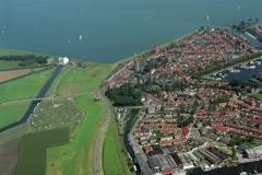 Medemblik Centrum havens Lely gemaal 1997 lfh 97083122-097