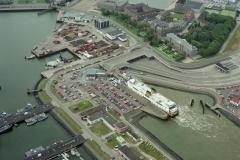 Den Helder veerpont Texel de Schulpengat Paleiskade Veerhaven 1997 lfh 97083143-100
