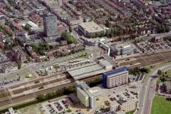 Zaandam Station AH kantoor Ankersmit plein 1997 lfh 97090116-117