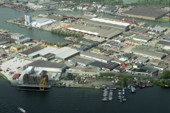 Zaandam Achtersluis polder Noordzeekanaal jachthaven 1997 lfh 97090120-118