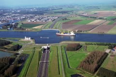 Velsen Wijkertunnel ri Noord Beverwijk ind terrein 1997 lfh 97092246-147