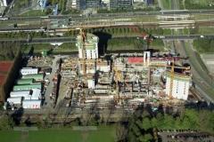 Amsterdam Zuid-as bouw ABN AmRO hoofdkantoor 1997 lfh 97102841-156
