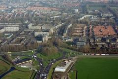 Alkmaar Kooimeer verkeersplein centrum achtergrond 1997 lfh 97111865-166