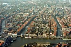 Alkmaar Centrum vanaf Accijnstoren Bierkade 1997 lfh 97111888-170
