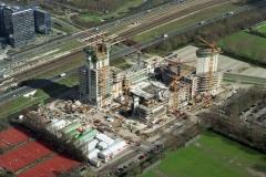 Amsterdam Zuid-as ABN AMRO hoofdkantoor bouw 1998 lfh 98031948-009
