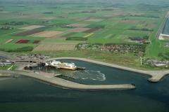 Texel Veerhaven met Molengat 1998 lfh 98050826-016