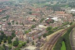 Beverwijk Station-plein Breestraat de Meer 1998 lfh 98062001-034