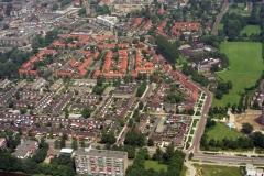 Heemskerk Centrum vanaf Janligthart straat 1998 lfh 98062023-037