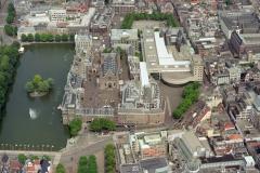 Denhaag Binnenhof Hofvijver Ridderzaal Binnenhof 2e kamer 1998 lfh 98062623-043