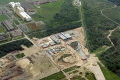 Heemskerk PWN water fabriek in aanbouw DWS Hoogovens 1998 lfh 98062661-049