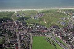 Wijk aan Zee centrum ri zee dorpweide recreatie drukte 1998 lfh 98072005-057