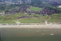 Wijk aan Zee Centrum strand Dorpsweide 1998 lfh 98072006-058