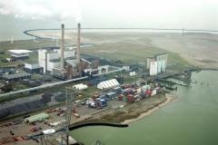 Rotterdam Maasvlakte Energie centrales 1999  lfh 99030537-006