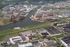Beverwijk Haven de Pijp instr terrein Wijkermeer  Bverwijk oost 1999 lfh 99042316-010