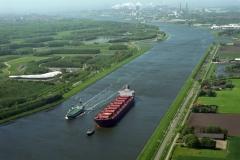Noordzeekanaal Spaarnwoude Ostrako Delftborg in Noordzeekanaal 1999 lfh 99050720-016