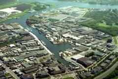 Beverwijk Haven de Pijp richting noordzeekanaal 1999 lfh 99050762-019