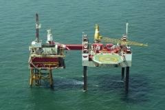 Noordzee P 9 -Horizon Unocal Seafox 1 1999 lfh 99051940-021
