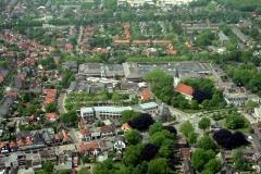 Heiloo Centrum Gemeentehuis Witte kerk winkel ctr t Loo 1999 lfh 99052617-024