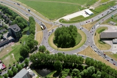 Alkmaar Kooimeer verkeersplein 1999 lfh 990527100-052