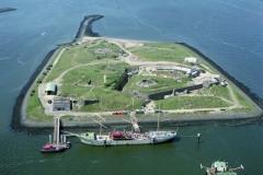IJmuiden Forteiland met Pollux 1999 lfh 99052774-044