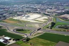 Beverwijk Ind.Beverwijk Oost A-9 aanleg afslag 1999 lfh 99061464-065