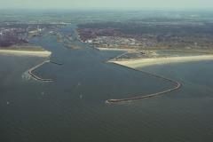 IJmuiden Pieren havenmond 1999 lfh 99072942