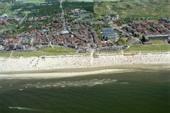 Egmond aan Zee strand drukte recreatie 1999 lfh 99072959-100