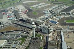 Schiphol Centre Verkeerstoren stations gebouw 1999 ldh 99082434-108